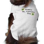El día de St Patrick Prenda Mascota