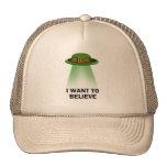 el día de St Patrick, quiero creer Gorra