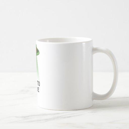 el día de St Patrick, quiero creer Tazas De Café