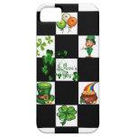El día de St Patrick retro único iPhone 5 Case-Mate Cobertura