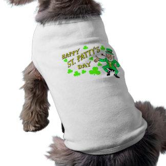 El día de St Patrick Ropa Perro
