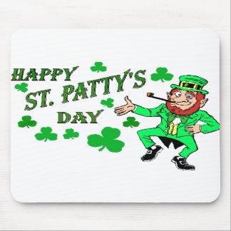 El día de St Patrick Alfombrilla De Raton