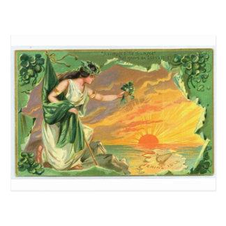 El día de St Patrick Tarjeta Postal