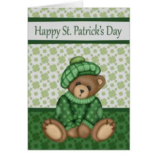 El día de St Patrick, tarjetas de felicitación