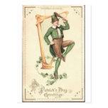 El día de St Patrick Tarjetas Postales