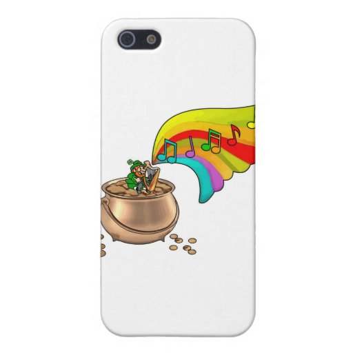 ¡El día de St Patrick - van los irlandeses! iPhone 5 Protectores
