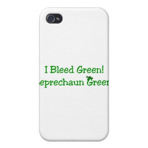 ¡El día de St Patrick - van los irlandeses! iPhone 4 Carcasas