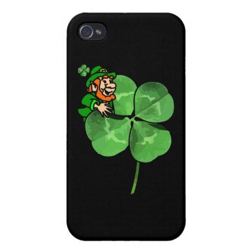 ¡El día de St Patrick - van los irlandeses! iPhone 4 Funda
