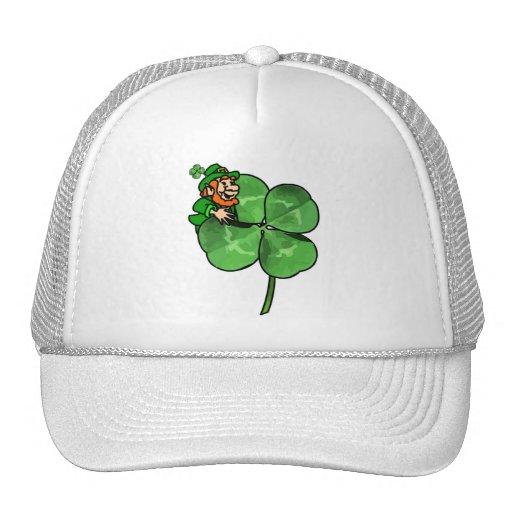 ¡El día de St Patrick - van los irlandeses! Gorras De Camionero
