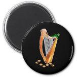 ¡El día de St Patrick - van los irlandeses! Iman De Nevera