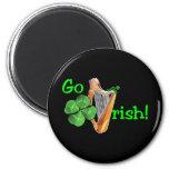 ¡El día de St Patrick - van los irlandeses! Iman De Frigorífico