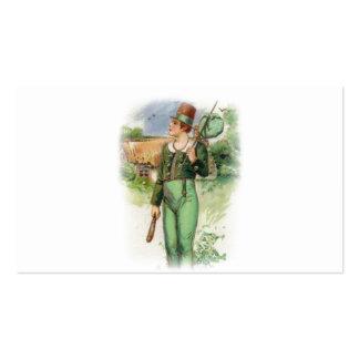 El día de St Patrick - vintage Tarjetas De Visita