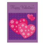 El día de Valenitne feliz Tarjetas Postales