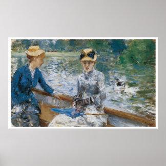 El día de verano, Berthe Morisot 1879 Póster