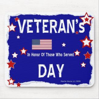 El día de veterano - en honor - Mousepad