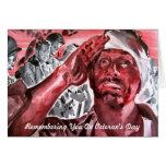 El día de veterano felicitación