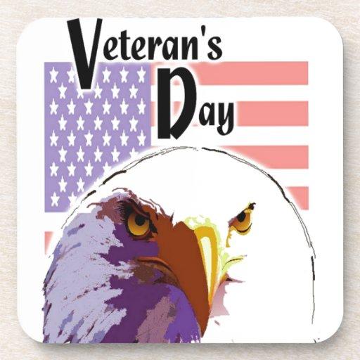 El día de veterano posavasos