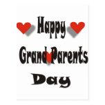 El día del abuelo feliz tarjetas postales