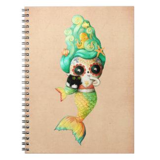 El día del chica muerto de la sirena spiral notebooks
