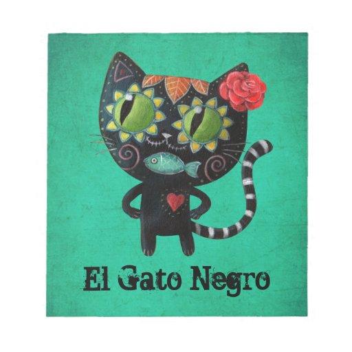 El día del gato negro muerto bloc