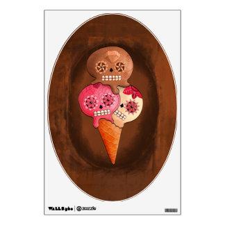 El día del helado muerto de los cráneos del azúcar vinilo