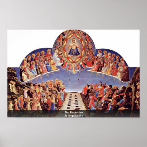 El día del juicio final por Angelico Fra Impresiones