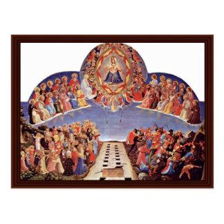 El día del juicio final por Angelico Fra Postal