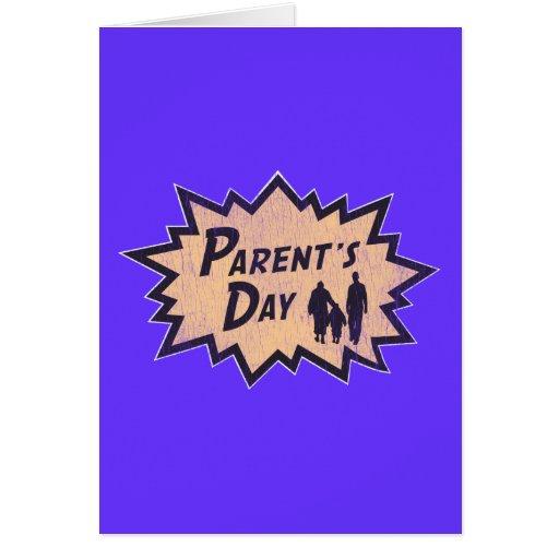 El día del padre tarjeta de felicitación