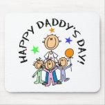 El día del papá feliz alfombrilla de ratón