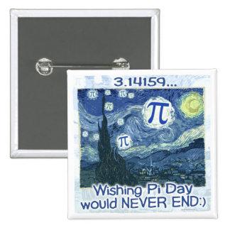 El día del pi nunca termina por los estudios de Mu Pins