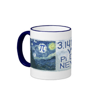 El día del pi nunca termina por los estudios de taza de dos colores