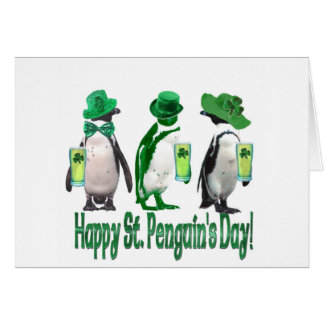El día del pingüino feliz del St. Felicitaciones
