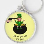 El día del St Patricks cagó o consigue del llavero