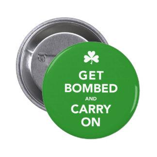 El día del St. Patty consigue bombardeado y contin Pins