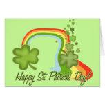 ¡El día feliz de San Patricio! Felicitación