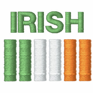 El día Irlanda de St Patrick señala la camiseta po Sudadera Bordada