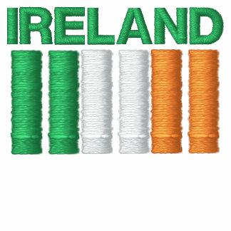 El día Irlanda de St Patrick señala la camiseta po Sudadera Bordada Con Capucha