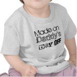 El día libre del papá camiseta