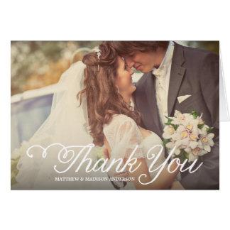 El día más dulce el | que se casa le agradece tarj tarjeta de felicitación