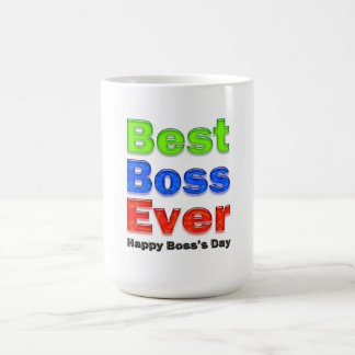 El día mejor Boss de Boss nunca Taza