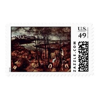 El día melancólico (mes de febrero o marzo) por sellos
