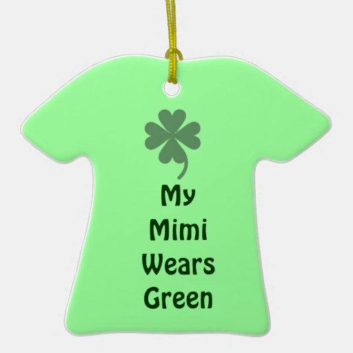 El día Mimi de St Patrick Ornamento Para Reyes Magos
