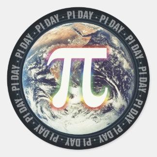 El día OM del pi conecta a tierra - al pegatina de