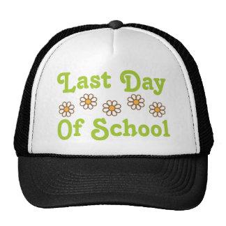 El día pasado de escuela gorra
