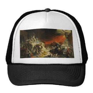 El día pasado de Pompeya de Karl Briullov Vesuvio Gorros