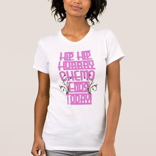 El día pasado de quimioterapia camisetas