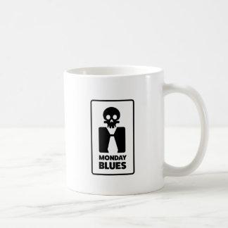 El día peor del cráneo de los azules de Wellcoda Taza