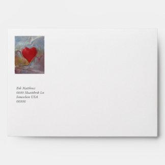 El Día-Sobre de la tarjeta del día de San Valentín
