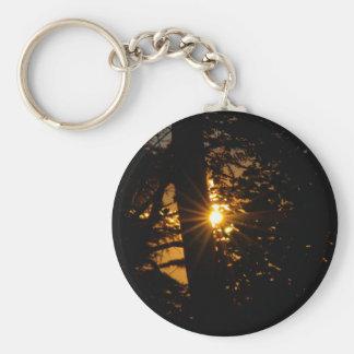 El día tienta en la salida del sol llavero redondo tipo pin