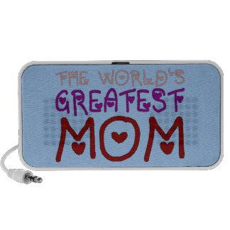 El día y el cumpleaños de madre más grande de la m portátil altavoz